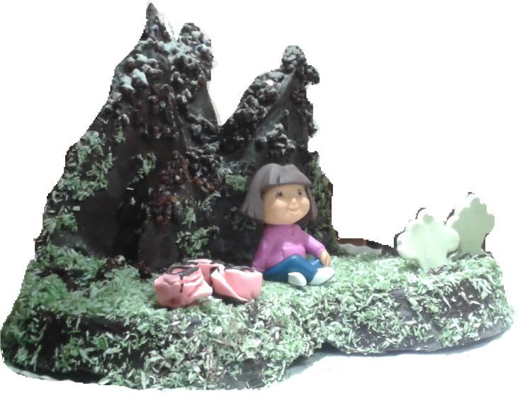 Dora exploradora en los picos de Europa.