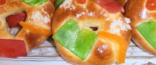 Mini Roscón de Reyes clásico en la confiteria biarritz de gijón- Los mejores roscones de gijón calidad precio.