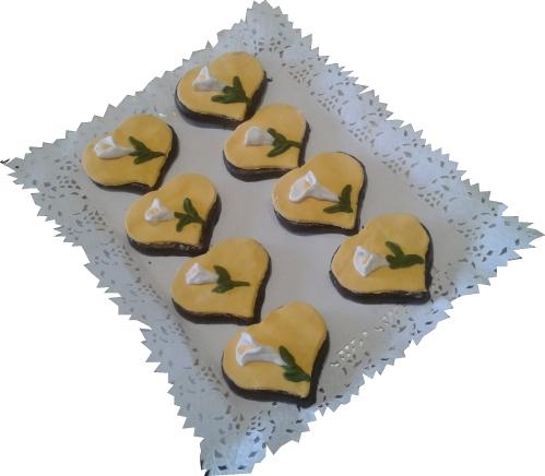 Deliciosa galleta hecha con amor para tu ser más querido.