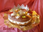 Roscón de Reyes: relleno de nata. Confiteria Biarritz Gijón. Mejor roscón de Reyes de Gijón