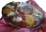Roscón de Reyes clásico. Confiteria Biarritz Gijón. Mejor roscón de Reyes de Gijón