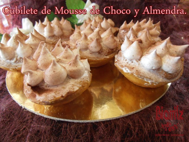Mousse de chocolate y almendra #Diadelamadre #mothersday